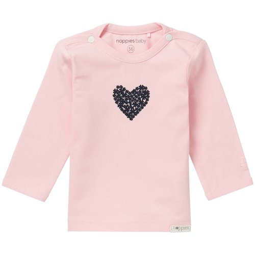 Noppies Noppies - baby Meisjes longsleeve Natick roze