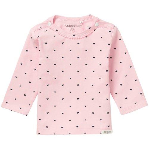 Noppies Noppies - baby Meisjes longsleeve Nanno roze