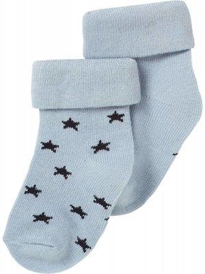 Noppies Noppies - baby Jongens sokken 2-pack Napoli grey blue