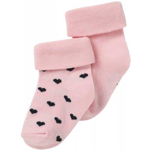 Noppies Noppies - baby Meisjes sokken 2-pack Naples roze