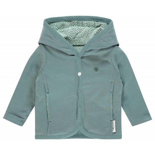 Noppies Noppies - baby cardigan Haye grey mint