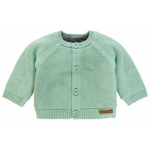 Noppies Noppies - baby vestje Lou mint