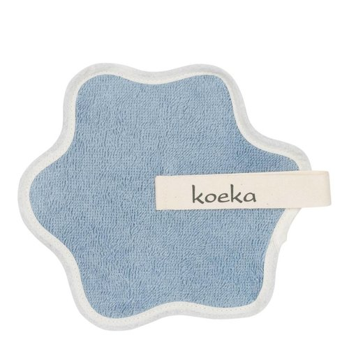 Koeka Koeka speendoekje rome blauw