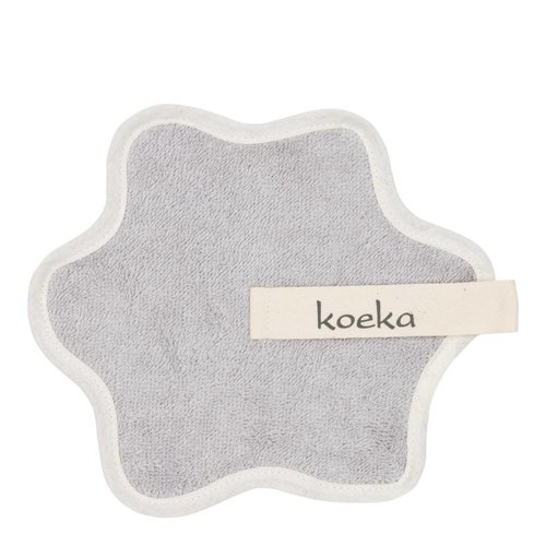 Koeka Koeka speendoekje rome zilver