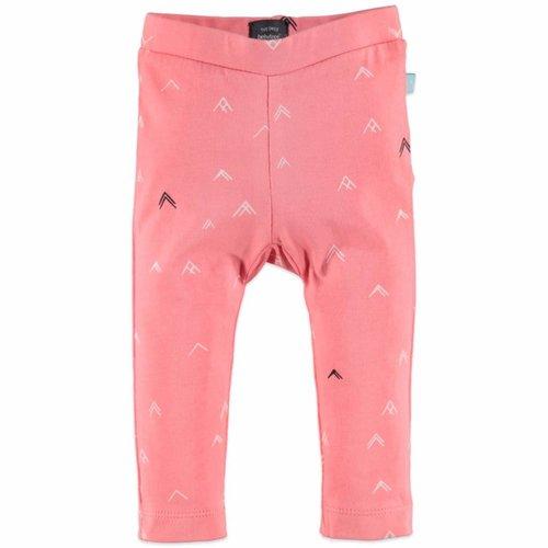 Babyface Babyface baby meisjes legging zalm roze