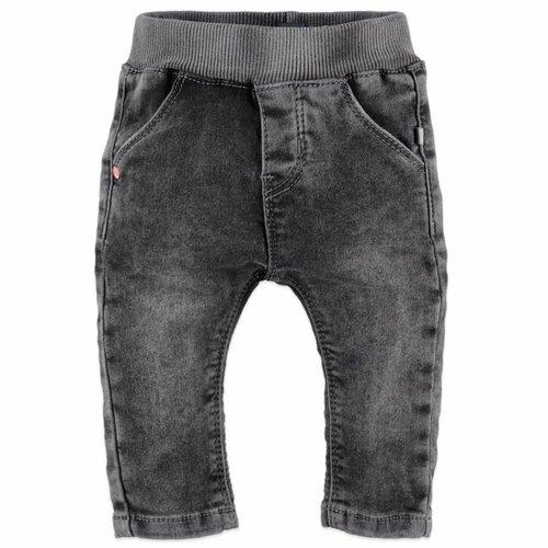 Babyface Babyface baby meisjes jogg jeans donker grijs denim