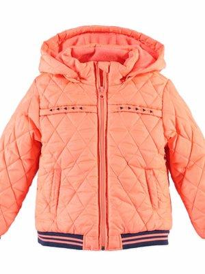 Babyface Babyface meisjes winterjas fluor oranje
