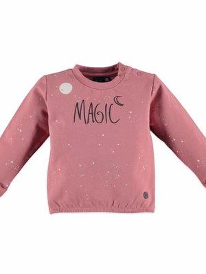 Babyface Babyface meisjes sweater zacht roze