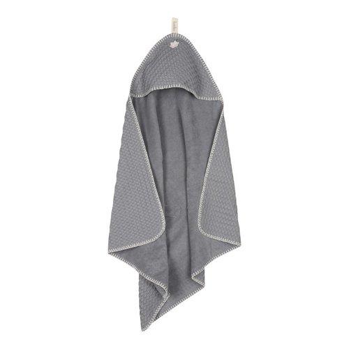 Koeka Koeka wikkelcape antwerp wafel steel grey