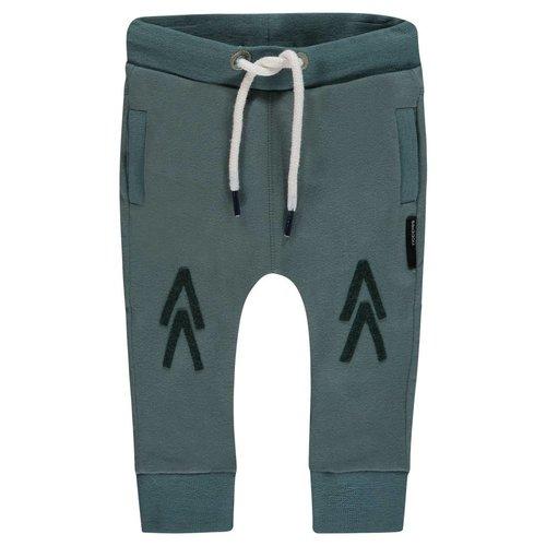 Noppies Noppies - Baby jongens broek slim-fit Valley olijf groen