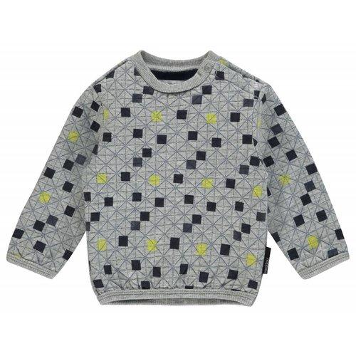 Noppies Noppies - Baby jongens sweater Warren grijs
