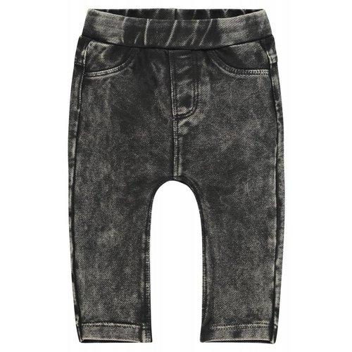 Noppies Noppies - Baby meisjes broek slim-fit Waterford donker grijs