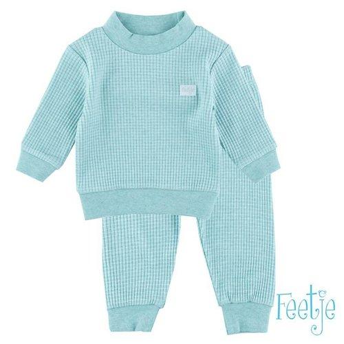 Feetje feetje pyjama mint groen