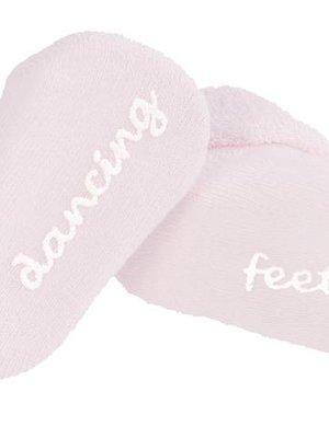 BAMBAM Bambam baby sokjes 'dancing feet' 0-3 m roze