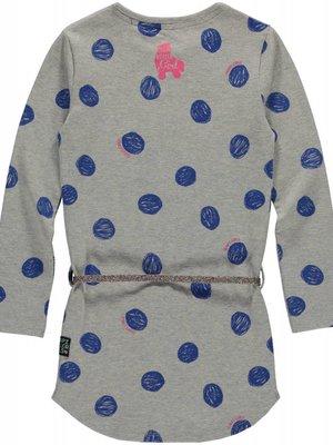 Quapi Meisjes jurk blauw Lamira Quapi