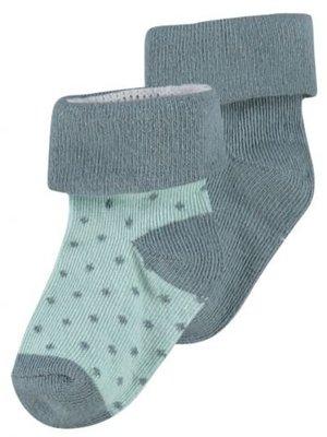 Noppies Noppies - sokken Dot donker groen