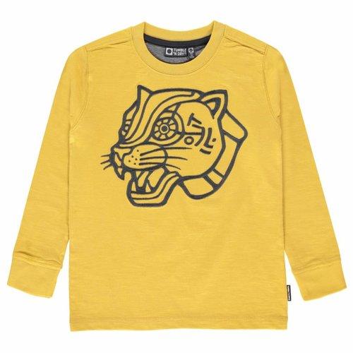 Tumble 'n Dry Tumble 'n Dry - Jongens longsleeve geel Olvin