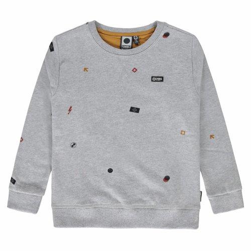 Tumble 'n Dry Tumble 'n Dry - Jongens sweater licht grijs Ole
