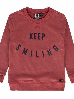 Tumble 'n Dry Tumble 'n Dry - Jongens sweater roze Oswald