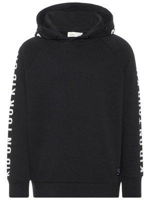 Name-it Name-it jongens sweater  NKMOLE zwart