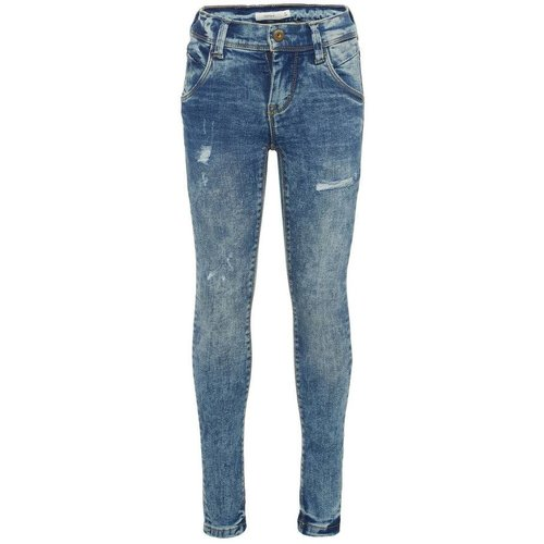 Name-it Name-it jongens  skinny jeans NKMPETE  Blue Denim