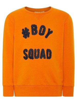 Name-it Name-it jongens sweater NKMNANOK oranje