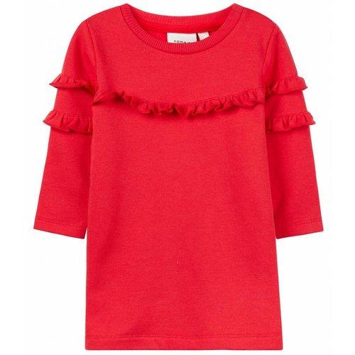 Name-it Name-it baby jurk NBFNELISA rood