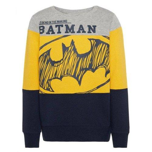 Name-it Name-it jongens sweater NKMSUPERHERO grijs