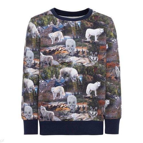 Name-it Name-it jongens  sweater NMMKASIAL d.blauw