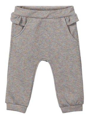 Name-it NBFRASHINE SWE PANT Grey Melange