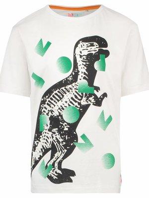 Noppies Nop - jongens t-shirt Veroniqe zilver