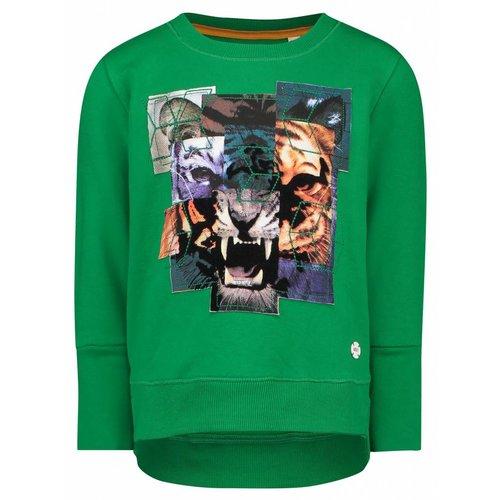 Noppies Nop - jongens sweater Viheke groen
