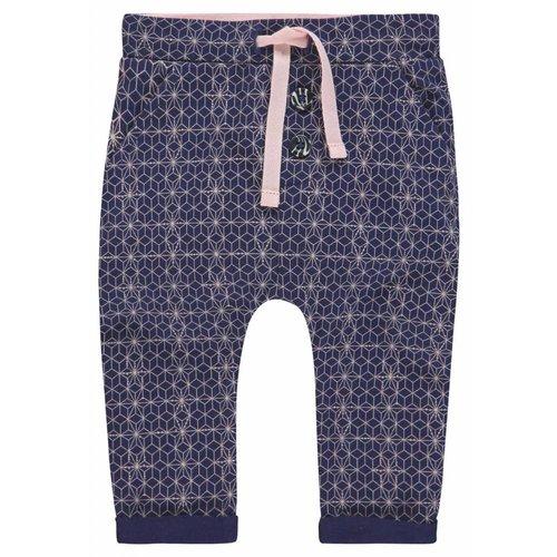 Noppies Noppies - Baby meisjes broek slim-fit Tupelo donker blauw