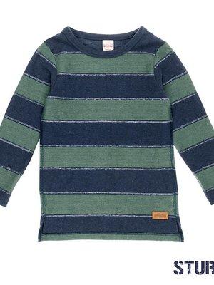 Sturdy Jongens sweater streep blauw Sturdy