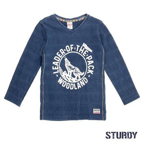 Sturdy Jongens longsleeve blauw Sturdy