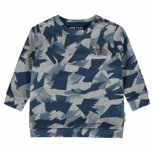 Tumble 'n Dry Tumble 'n Dry - Jongens sweater licht grijs Jivan
