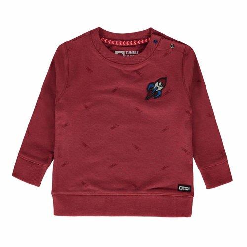Tumble 'n Dry Tumble 'n Dry - Jongens sweater roze Kiemoen