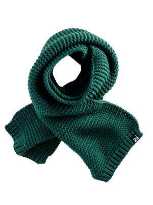 Z8 Z8 - Jongens sjaal donker groen Boaz