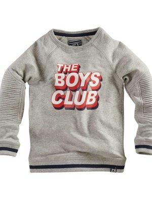 Z8 Z8 - Jongens sweater grijs Binno