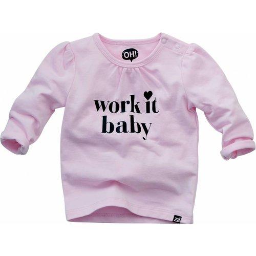 Z8 Baby meisjes longsleeve roze Nancy Z8