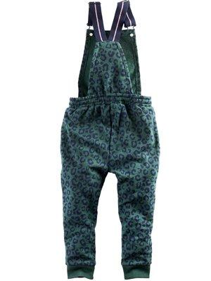 Z8 Z8 - Meisjes jumpsuit donker groen Minoes
