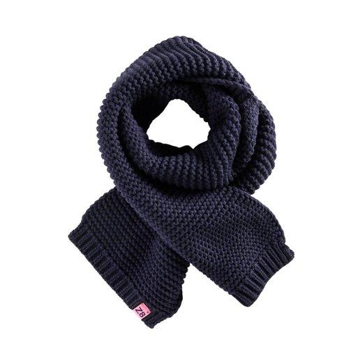 Z8 Z8 - Meisjes sjaal donker blauw Merij