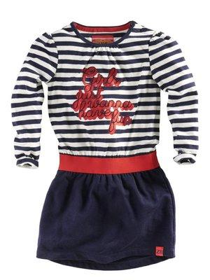 Z8 Z8 - Meisjes jurkje donker blauw Marysol