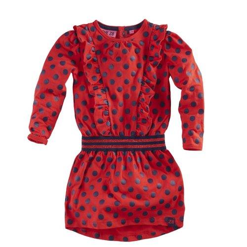 Z8 Z8 - Meisjes jurkje rood Marjon