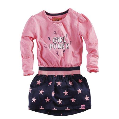 Z8 Z8 - Meisjes jurkje roze Marjonel