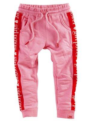 Z8 Z8 - Meisjes sweatbroek roze Marije