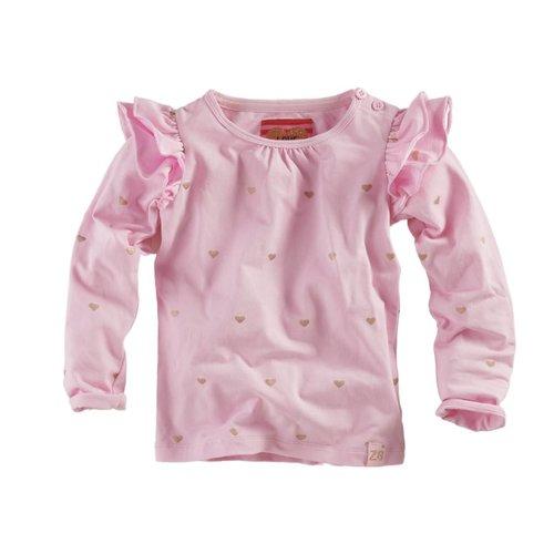 Z8 Z8 - Meisjes longsleeve roze Manuela