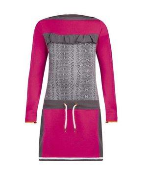 Ninni-vi Ninni-Vi - meisjes jurk zacht roze