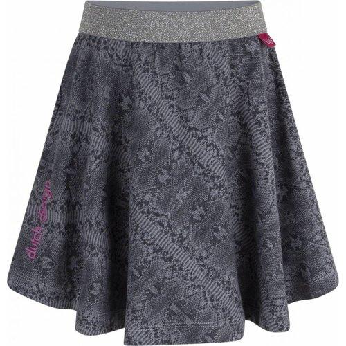 Ninni-vi Ninni-Vi - meisjes jurk grijs