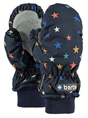 Barts barts baby nylon wanten stars donker blauw